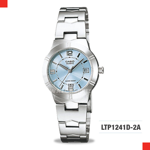 Casio Ladies Watch LTP1241D-2A