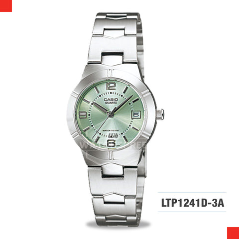 Casio Ladies Watch LTP1241D-3A