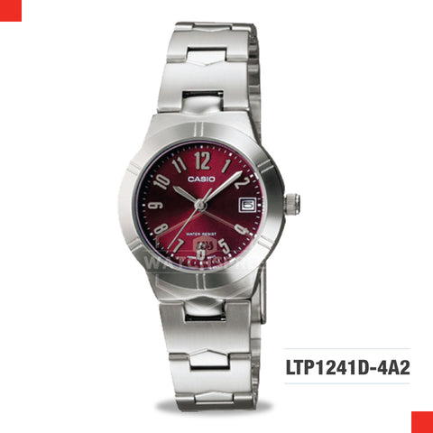 Casio Ladies Watch LTP1241D-4A2