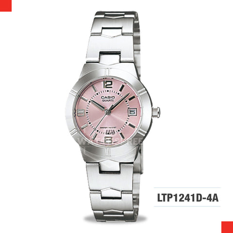 Casio Ladies Watch LTP1241D-4A
