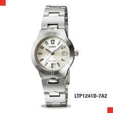 Load image into Gallery viewer, Casio Ladies Watch LTP1241D-7A2