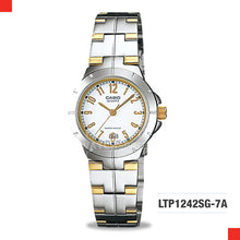Load image into Gallery viewer, Casio Ladies Watch LTP1242SG-7A