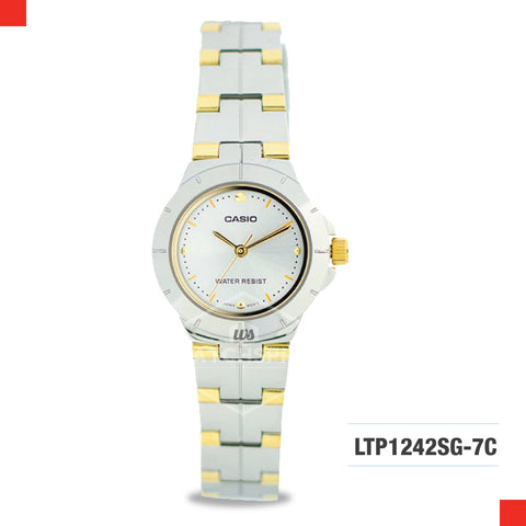 Casio Ladies Watch LTP1242SG-7C