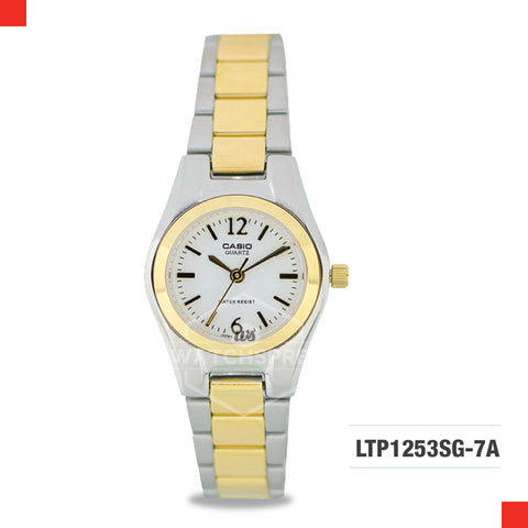 Casio Ladies Watch LTP1253SG-7A