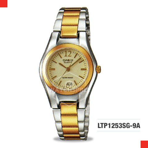 Casio Ladies Watch LTP1253SG-9A