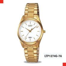 Load image into Gallery viewer, Casio Ladies Watch LTP1274G-7A