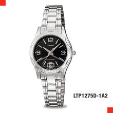 Load image into Gallery viewer, Casio Ladies Watch LTP1275D-1A2
