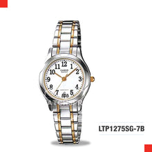 Load image into Gallery viewer, Casio Ladies Watch LTP1275SG-7B