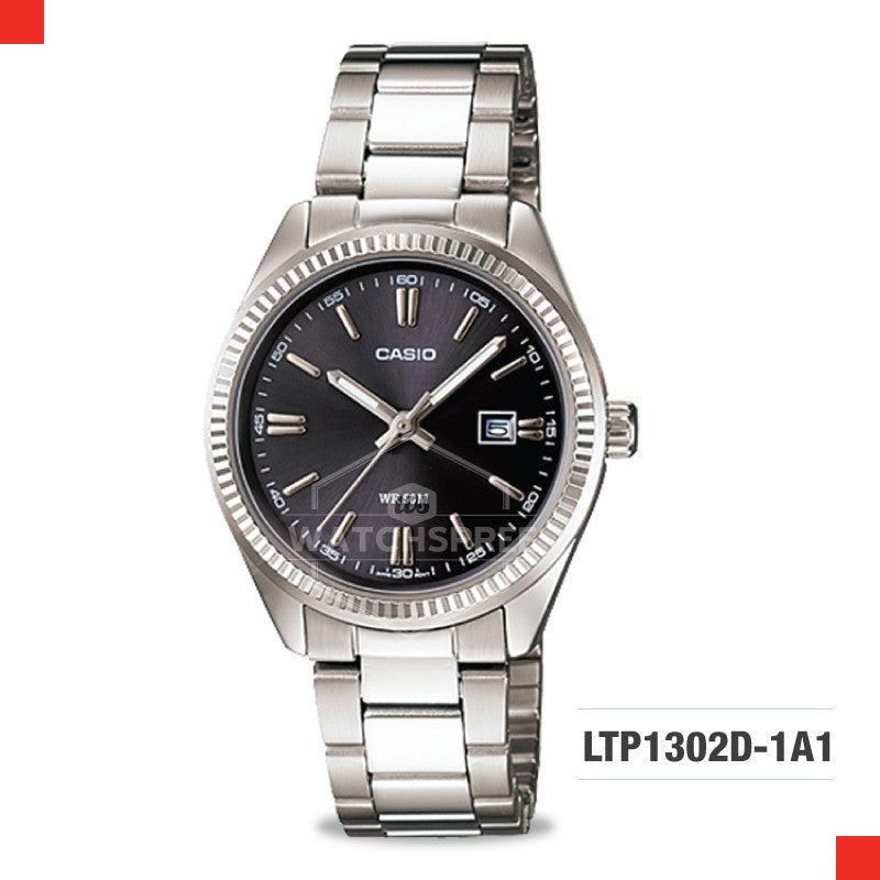Casio Ladies Watch LTP1302D-1A1