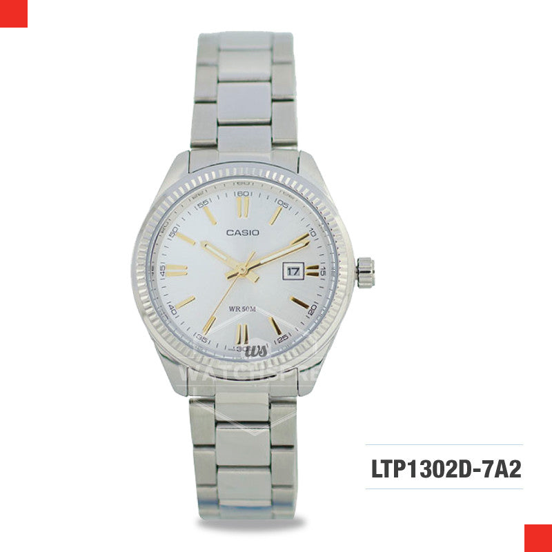 Casio Ladies Watch LTP1302D-7A2