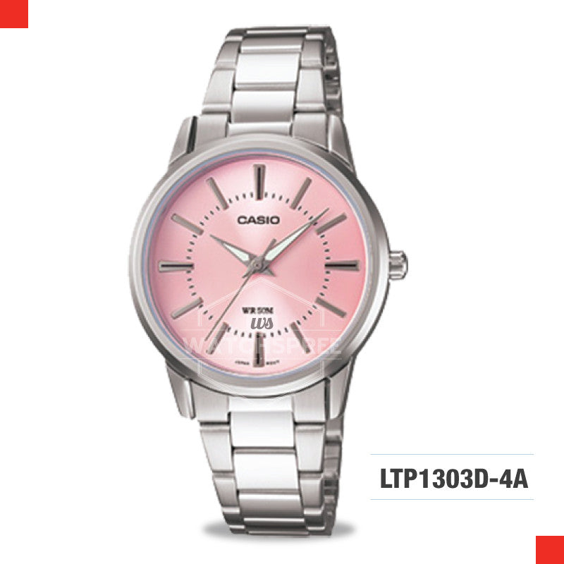 Casio Ladies Watch LTP1303D-4A