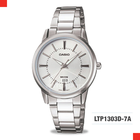 Casio Ladies Watch LTP1303D-7A