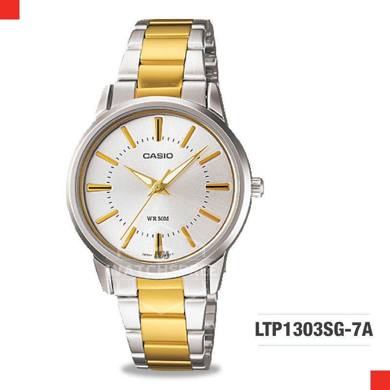 Casio Ladies Watch LTP1303SG-7A