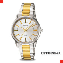 Load image into Gallery viewer, Casio Ladies Watch LTP1303SG-7A