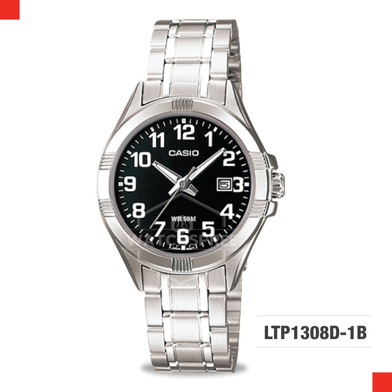 Casio Ladies Watch LTP1308D-1B