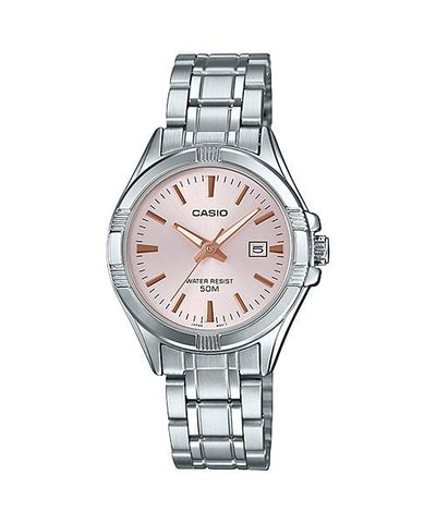 Casio Ladies' Standard Analog Silver Stainless Steel Band Watch LTP1308D-4A LTP-1308D-4A