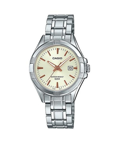 Casio Ladies' Standard Analog Silver Stainless Steel Band Watch LTP1308D-9A LTP-1308D-9A