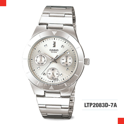 Casio Ladies Watch LTP2083D-7A