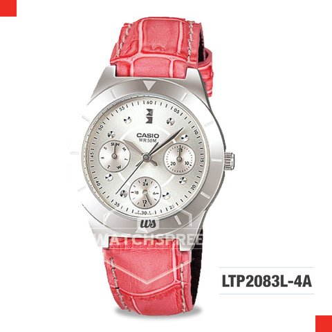 Casio Ladies Watch LTP2083L-4A