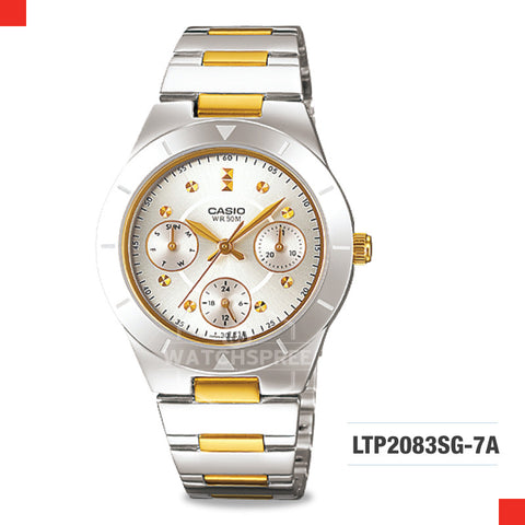 Casio Ladies Watch LTP2083SG-7A