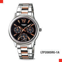Load image into Gallery viewer, Casio Ladies Watch LTP2085RG-1A