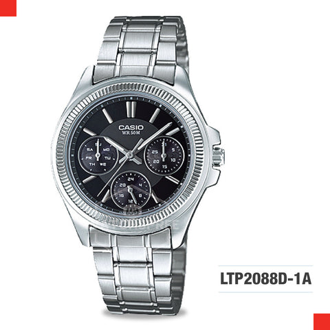Casio Ladies Watch LTP2088D-1A