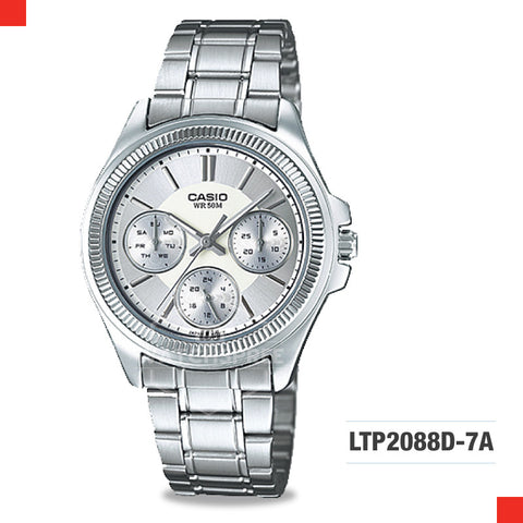 Casio Ladies Watch LTP2088D-7A