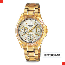Load image into Gallery viewer, Casio Ladies Watch LTP2088G-9A