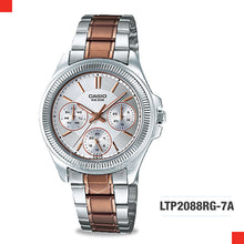 Load image into Gallery viewer, Casio Ladies Watch LTP2088RG-7A