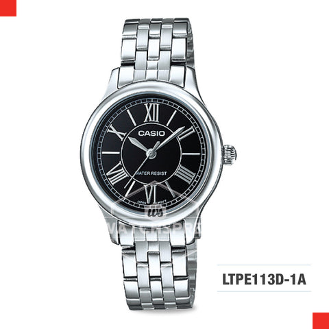 Casio Ladies Watch LTPE113D-1A