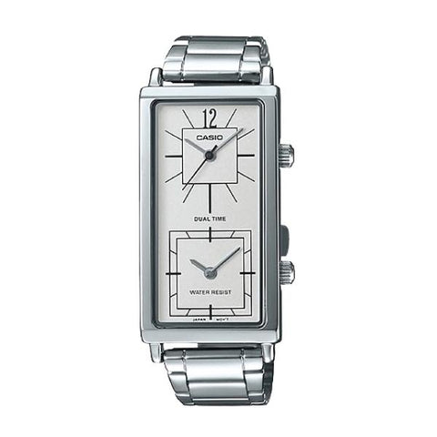 Casio Ladies' Fashion Enticer Series Silver Stainless Steel Watch LTPE151D-7B LTP-E151D-7B