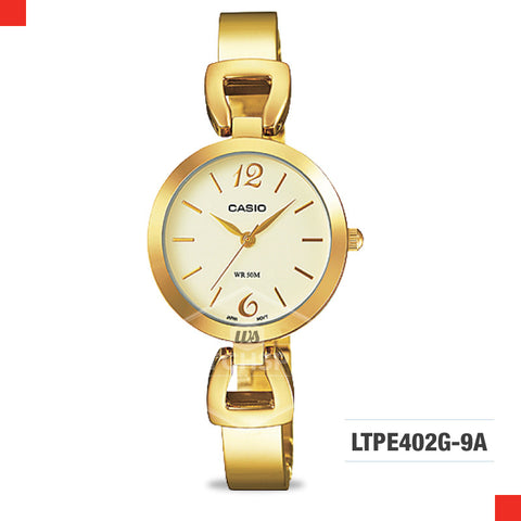 Casio Ladies Watch LTPE402PG-9A