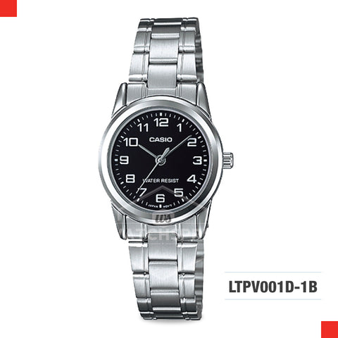 Casio Ladies Watch LTPV001D-1B