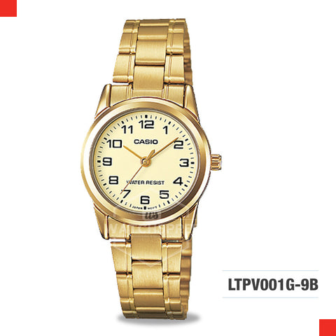 Casio Ladies Watch LTPV001G-9B