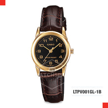 Load image into Gallery viewer, Casio Ladies Watch LTPV001GL-1B