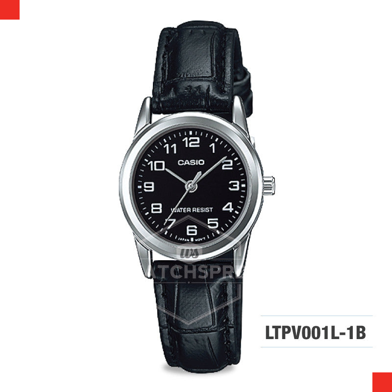 Casio Ladies Watch LTPV001L-1B