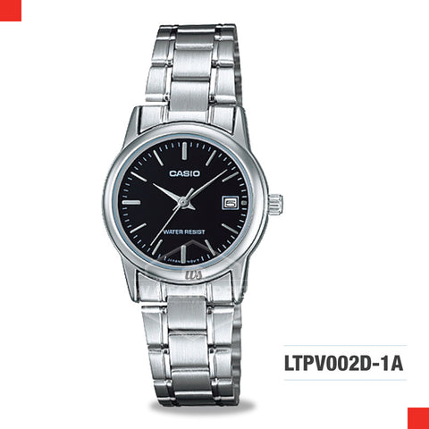 Casio Ladies Watch LTPV002D-1A