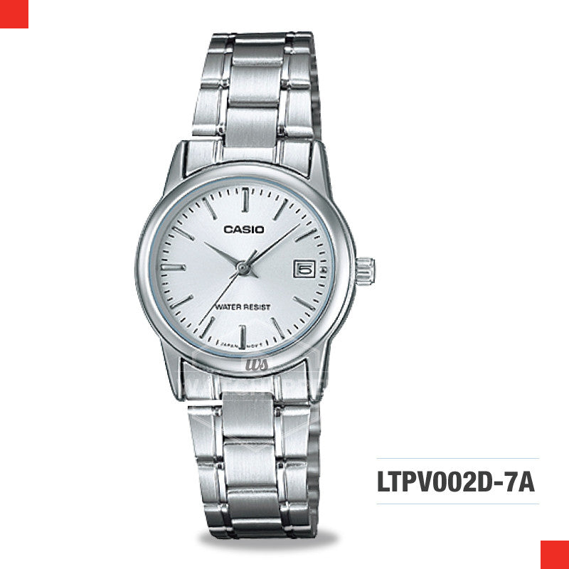 Casio Ladies Watch LTPV002D-7A