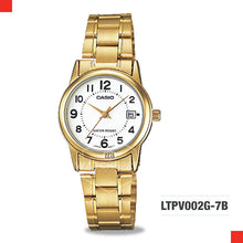 Load image into Gallery viewer, Casio Ladies Watch LTPV002G-7B
