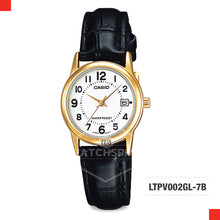 Load image into Gallery viewer, Casio Ladies Watch LTPV002GL-7B