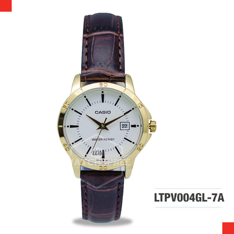 Casio Ladies Watch LTPV004GL-7A