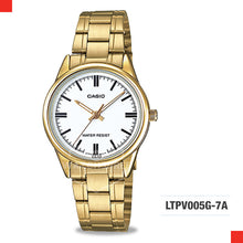 Load image into Gallery viewer, Casio Ladies Watch LTPV005G-7A