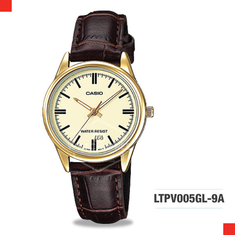 Casio Ladies Watch LTPV005GL-9A
