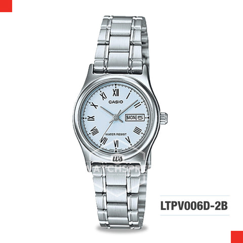 Casio Ladies Watch LTPV006D-2B