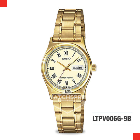 Casio Ladies Watch LTPV006G-9B