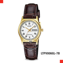 Load image into Gallery viewer, Casio Ladies Watch LTPV006GL-7B