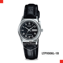 Load image into Gallery viewer, Casio Ladies Watch LTPV006L-1B