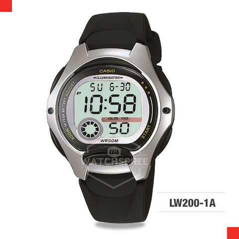 Casio Watch LW200-1A