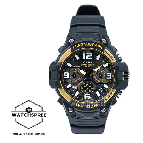 Casio Chronograph Sports Watch MCW100H-9A2