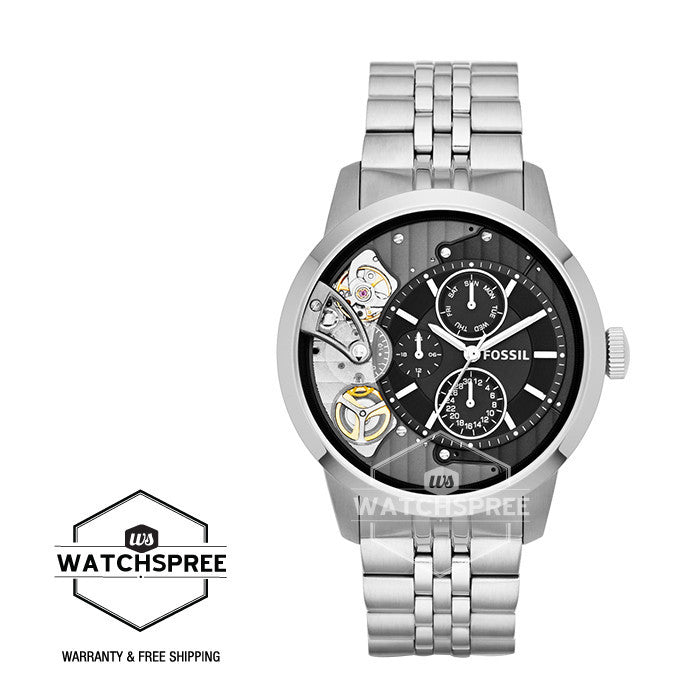 d97f04761 Fossil Townsman Multifunction Stainless Steel Watch ME1135   Watchspree